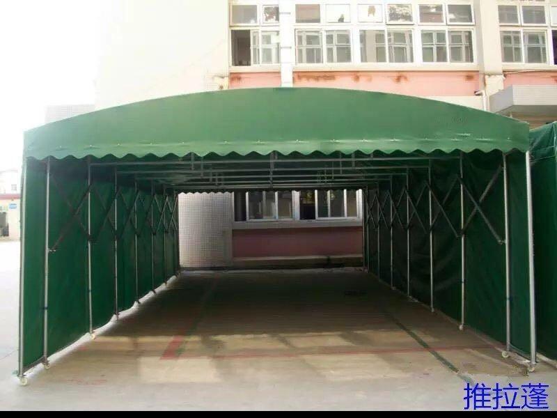 广东晨本专业定制各种彩棚推拉蓬停车棚遮阳雨棚大排档烧烤帐篷