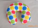 批发加工定制圆点护颈枕系列泳装氨纶面料粒子填充抱枕靠垫玩具