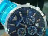 个人全新阿玛尼手表转让姐夫送的