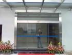 高明安装感应玻璃门,高明智能门电锁,后备电源