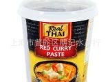 批发供应RealThai原装进口 泰国丽尔泰红咖喱酱1KG