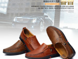 正品男鞋商务休闲鞋英伦百搭男皮鞋男式真皮单鞋头层牛皮鞋招代理