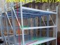 上海仓储货架超市货架角钢货架钛合金展柜等可定做
