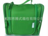 绿色环保洗漱袋 涤纶手提洗漱包 挂式洗漱化妆袋专业定制