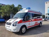 岳阳120急救车送病人 病人运送回家