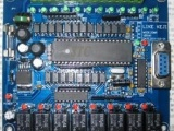 国产PLC控制板 仿三菱PLC工控板 单
