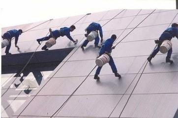 古镇地板打蜡 晶面处理 高空作业 首选中山南都清洁服务公司