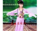 儿童古装 唐装汉服 贵妃装 小仙女小龙女演出服 古筝表演服
