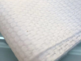 厂家直销一次性毛巾纯棉白色系列可定制台湾珍珠纹毛巾65克