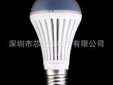 【外贸热销】5050贴片LED球泡灯 E27螺口 5W、7W灯泡