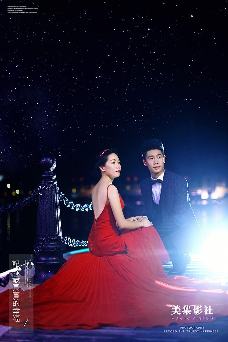 中山婚纱照与时尚融合是怎样的一种大片