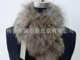 露尔曼皮草厂家服装辅料奢华皮草毛领批发貉子毛围脖尺寸可定