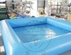 移动水上乐园 水上滑梯组合 水上冲关设备 支架游泳池