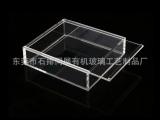 透明亚克力盒子 抽屉门展示盒 精美礼品盒 商品盒 饰品展示盒