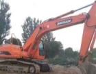 斗山 DH220LC-7 挖掘机         (干绿化的挖掘