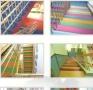 专业承接各种室内外塑胶场地 幼儿园及运动地板 草坪