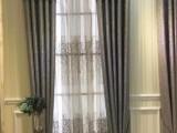 专业窗帘定制,别墅窗帘 电动窗帘