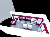 商业室内外装修 展柜的生产制作