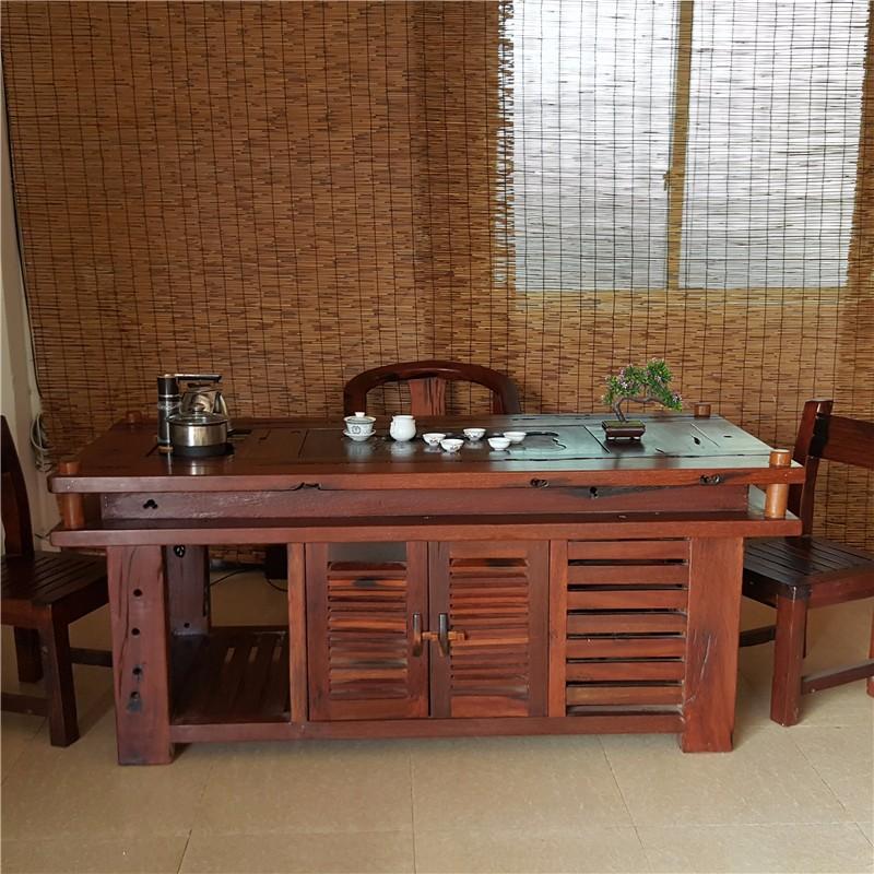直销老船木家具,茶台,牌匾,艺术装修