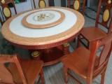 大理石圆形餐桌多种花色