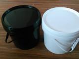 厂家直销5KG塑料桶 油漆桶 化工包装桶 5L油墨罐子