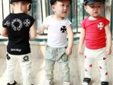 童T恤 2014夏季新款童装 韩版宝宝全棉奥黛尔儿童短袖 打底衫
