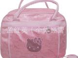 批发供应粉色系列KT旅行包 卡通手提行旅包 大容量休闲旅行包