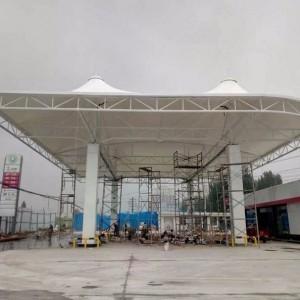 膜结构专业厂家设计定制膜结构收费站高速公路膜结构出入口