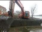 德宏市水陆两用挖机出租打造精品机械