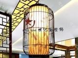 中式吊灯餐厅灯过道灯鸟笼灯阳台灯工程灯具