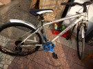 低价转让24速型号27全鋁法国迪卡侬山地自行车560元