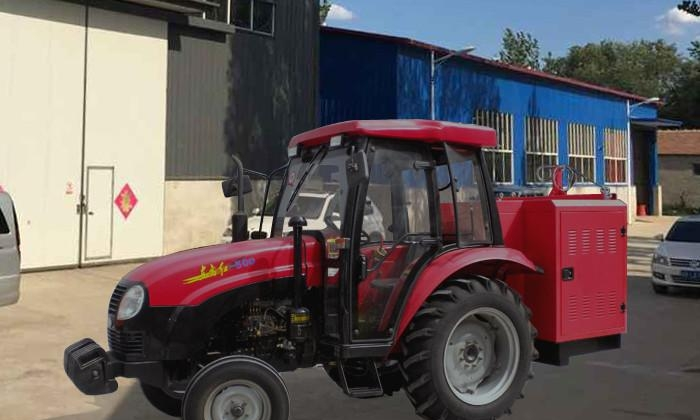 四驱拖拉机发电电焊一体机