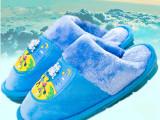 冬季新款儿童棉拖鞋 保暖防滑家居拖鞋 时尚拖鞋 爸爸去哪儿 带灯