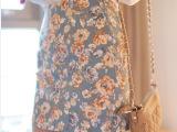 百搭显瘦包臀碎花裙 韩版弹力A字裙一步裙 职业裙半身裙包裙短裙