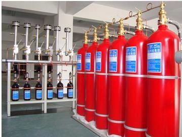 七氟丙烷管网式灭火装置 适合远距离输送和大空间防护区