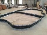 GB环形400 10中埋式钢边橡胶止水带