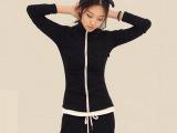 2014秋季新款女装韩国东大门原版修身休闲女式长袖卫衣套装两件套