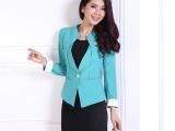 2014春款女士亚麻时尚女性职业装工作服女式小西装外套批发
