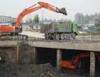 上海闵行区挖掘机出租路面破碎土方挖掘