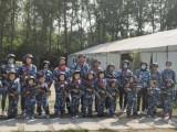 蓝海军事特训营真人CS拓展活动军事培训
