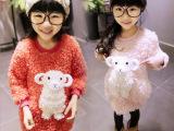 一件待发  童装卫衣2014韩版新款 女童卫衣加绒圆领儿童卫衣套
