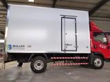 山东宝拉施瓦尔轻量化冷藏车厢体蓝牌食品运输车