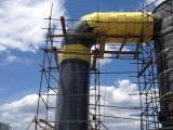 钢厂设备管道保温防腐公司 硅酸铝不锈钢板保温施工