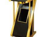 经典新概念S型座地烟灰桶 不锈钢电梯走廊垃圾桶 酒店创意果皮箱