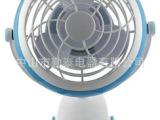 USB充电风扇 台夹两用 4寸环保ABS塑胶 厂家直销新产品