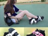 AIR VEER权志龙GS黑白气垫篮球鞋男鞋情侣潮鞋aj女鞋增高