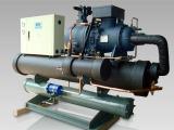 武汉10匹工业冷水机 大连90匹低温螺杆式冷水机 开放式冷冻机