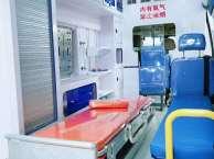 阿克苏私人救护车出租服务到位带医生