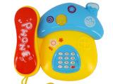 婴幼儿音乐电话玩具 益智早教带灯光音乐 伟盛玩具