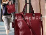 女士包包2014新款女包真皮女单肩斜挎包包休闲复古女牛皮包特价包